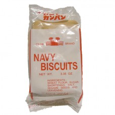 Crab Navy Biscuits (1 Case - 64 Packages) SHIPPING COST INCLUDED WITH PRICE