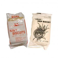 Crab Navy and Ship Biscuits (64 packages) SHIPPING COST INCLUDED WITH PRICE