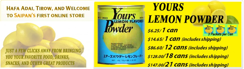 YOURS LEMON POWDER